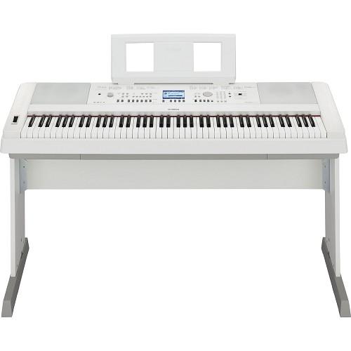 YAMAHA Piano Digital [DGX-650] - White - Digital Piano